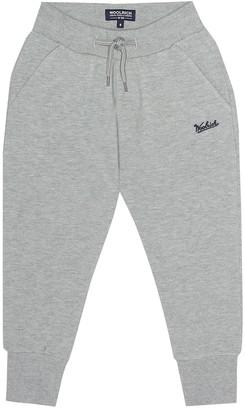 Woolrich Kids Cotton-blend trackpants