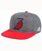 adidas Portland Trail Blazers Fog Snapback Cap
