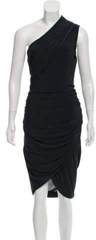 Alexander Wang One-Shoulder Draped Dress