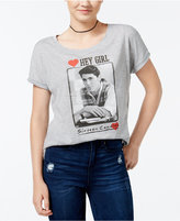 Hybrid Sixteen Candles Juniors' Hey Girl Graphic T-Shirt