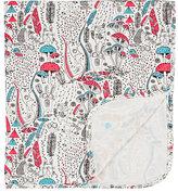 The Bonnie Mob Wilderness-Print Cotton-Blend Swaddle Blanket