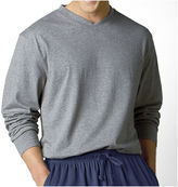 JCPenney Stafford Knit V-Neck Sleep Shirt - Big