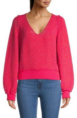 Free People Riptide V-Neck Sweater