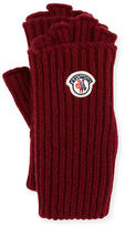 Moncler Guanti Logo Patch Fingerless Gloves
