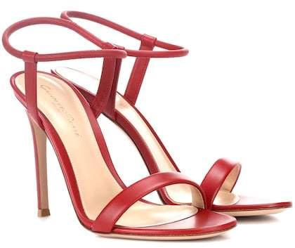 Gianvito Rossi Jamie leather sandals