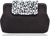Nina Beaded Satin Pouch