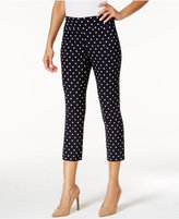 Charter Club Petite Cambridge Printed Capri Pants, Only At Macy's