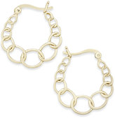 Giani Bernini Graduated Link Hoop Earrings in 18k Gold-Plated Sterling Silver, Only at Macy's