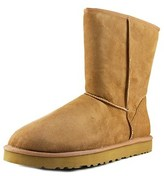UGG Classic Short Round Toe Suede Winter Boot.