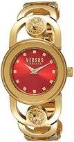 Versus By Versace Women's 'Carnaby Street' Quartz Stainless Steel Casual Watch, Color:Gold-Toned (Model: SCG120016)