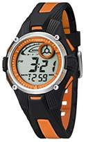 Calypso Unisex Digital Watch with LCD Dial Digital Display and Multicolour Plastic Strap K5558/4