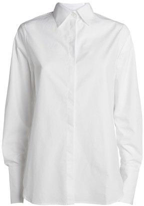 MARK KENLY DOMINO TAN Cotton Bertine Shirt