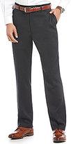 Roundtree & Yorke Ultimate Comfort TravelSmart Flat Front Mini Check Dress Pants