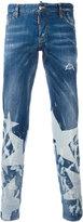 DSQUARED2 star print jeans - men - Cotton/Polyester/Spandex/Elastane - 44