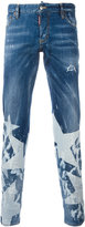 DSQUARED2 star print jeans - men - Cotton/Spandex/Elastane/Polyester - 46
