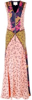 Roksanda Multi-Print Long Dress