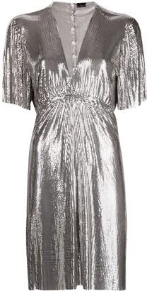 Paco Rabanne Sequin-Embellished Robe Dress