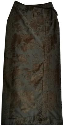 Kenzo Brown Velvet Skirt for Women