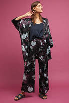 Anthropologie Arche Floral Wide-Leg Pants