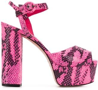 Le Silla Alyssa platform sandals