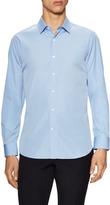 Valentino Men's Solid Spread Collar Dress Shirt