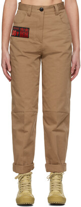 SSENSE WORKS SSENSE Exclusive 88rising Brown Workwear Trousers