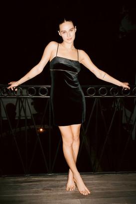 Urban Outfitters Sunny Velvet Empire Waist Mini Dress