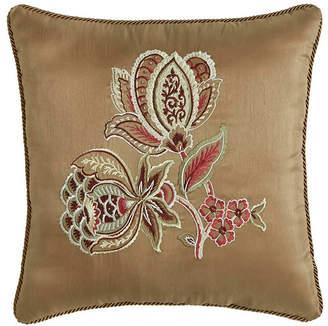 "Croscill Esmeralda 16"" x 16"" Fashion Pillow Bedding"