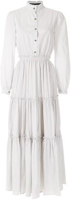 Eva Striped Shirt Dress