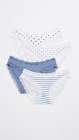 Cheek Frills Classic & Nautical 4 Pack Panties