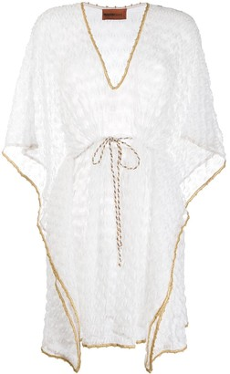 Missoni Mare Drawstring Waist Beach Cover-Up