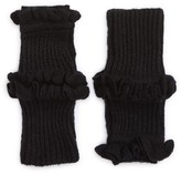 Rebecca Minkoff Women's Ruffle Fingerless Gloves