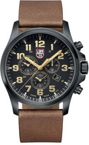 Luminox Atacama Chronograph 1940 Series Watch, Black/Tan