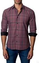 Jared Lang Men's Plaid Sport Shirt