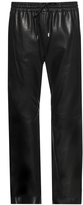 Joseph New Loulou relaxed leather trousers
