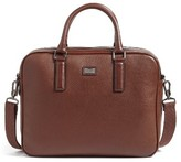 Ted Baker Men's Leather Document Bag - Brown