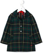 Rykiel Enfant - checked coat - kids - Cotton/Polyester/Viscose - 4 yrs