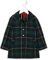 Rykiel Enfant checked coat