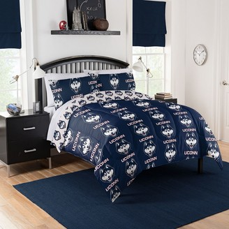 NCAA UConn Queen Bed Set by Northwest