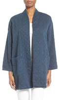 Eileen Fisher Women's Print Denim Jacket