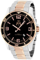Jivago Mens Two Tone Bracelet Watch-Jv6118