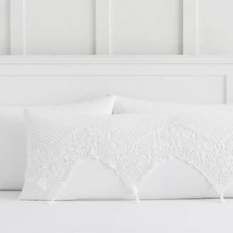Pottery Barn Teen Sweet Crochet Body Pillow Cover, Multi