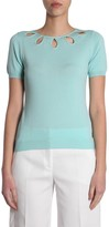 Moschino Cut-Out Neckline Top