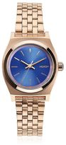 Nixon Small Time Teller Rose Gold Finish Watch