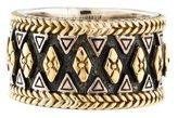Konstantino Wide Bicolor Ring