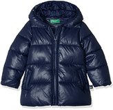 Benetton Girl's 2EO0538F0 Jacket,1 - 2 Years (Manufacturer Size:1 Years)