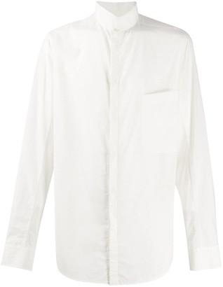 Ziggy Chen Stand-Up Collar Shirt