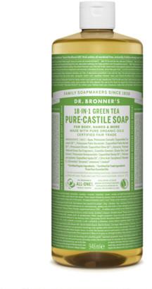 Dr. Bronner's 18 In 1 Hemp Green Tea Pure Castile Liquid Soap 946Ml