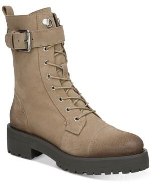 Sam Edelman Women's Junip Lug Sole Combat Boots Women's Shoes
