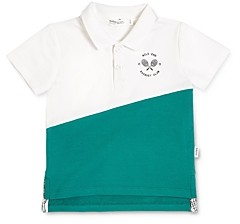 Miles Baby Unisex Cotton-Blend Colorblocked Polo - Baby